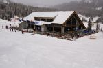 Wolf Creek Lodge is the largest building at Wolf Creek. For now. Photo by Josh Cooley