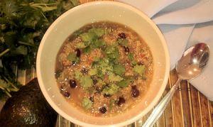squash quinoa soup 1